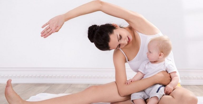 En forma tras el parto evitando riesgos