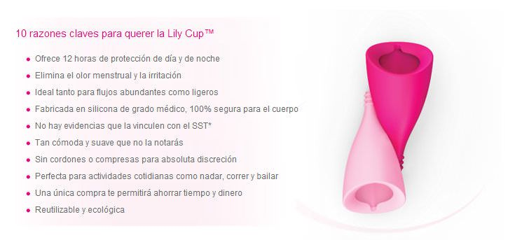 10 razones para usar Lily Cup