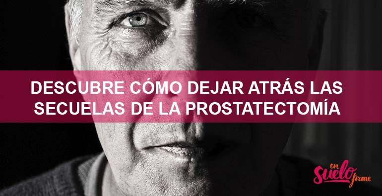 Superar la prostatectomia