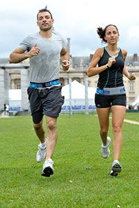 Cinturón pélvico Physiomat la Parisienne para runners