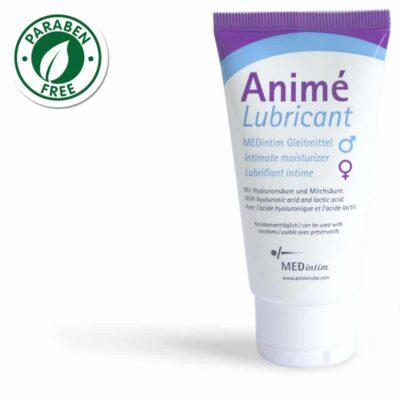 Anime lubricante base agua acido hialuronico