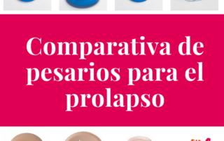 Comparacion Pesarios prolapso