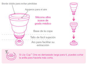 Intimina Lily Cup One caracteristicas