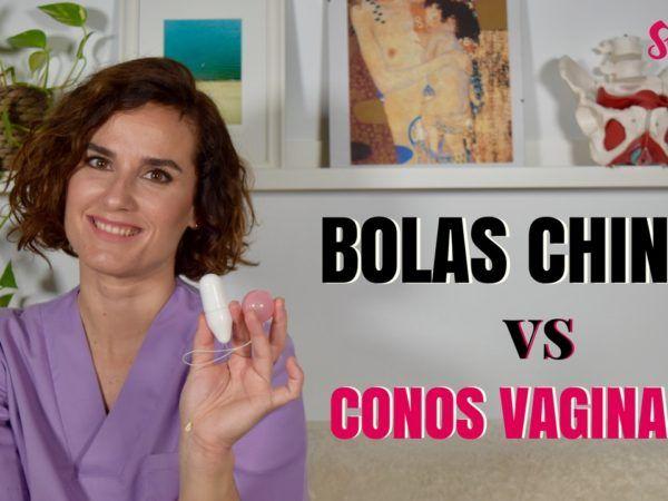 Diferencias entre las bolas chinas y los conos vaginales