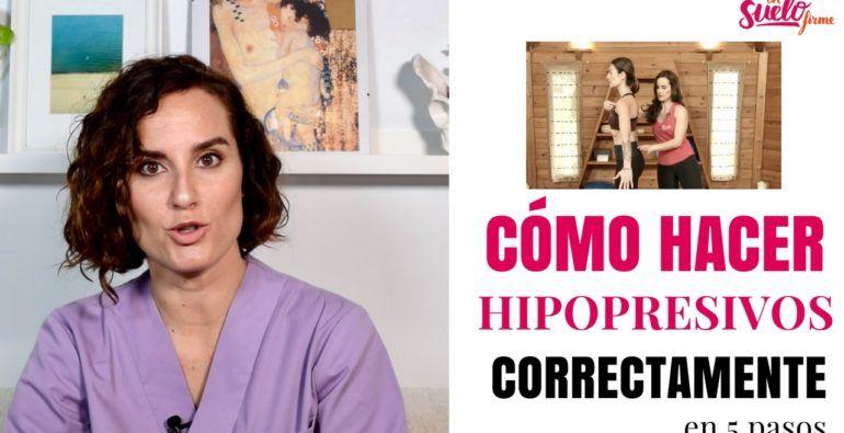 Como hacer abdominales hipopresivos correctamente