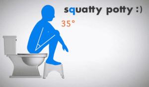 Potty-squatty