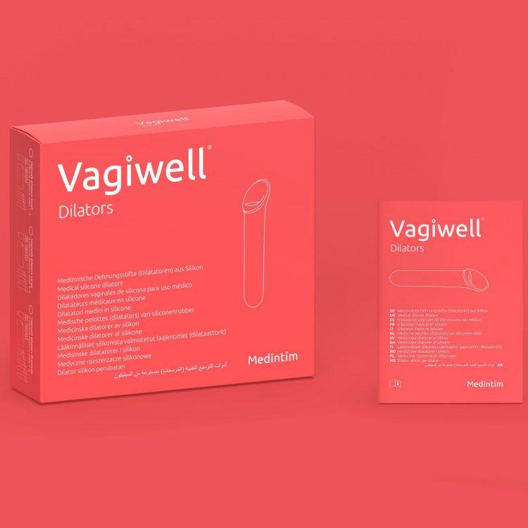 Vagiwell caja dilatadores vaginales