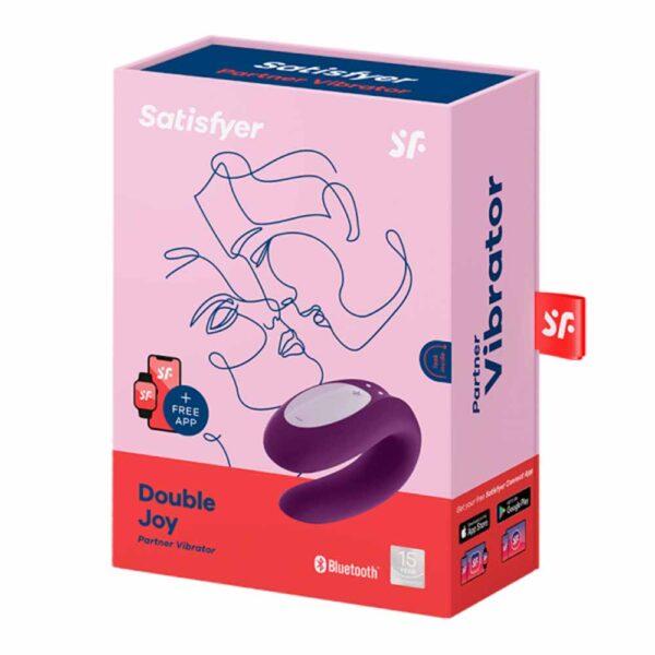 Satisfyer double joy purple caja